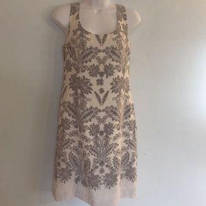 Ann Taylor Loft Size 4 Sundress Gauzy Crinkle Boho
